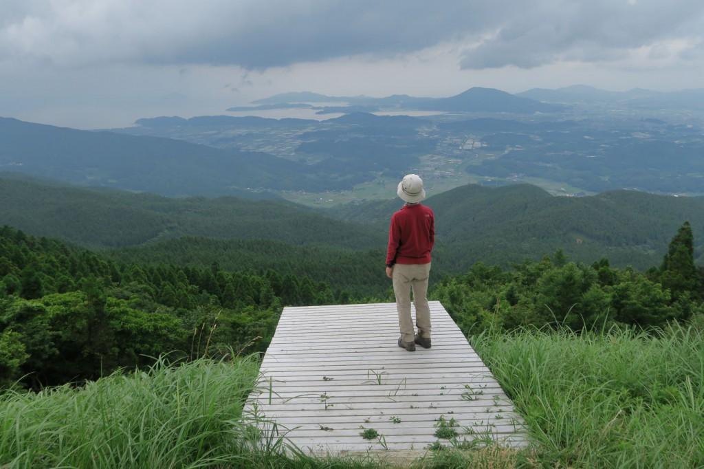 「大展望台」糸島半島から博多湾の眺めがよかったです。