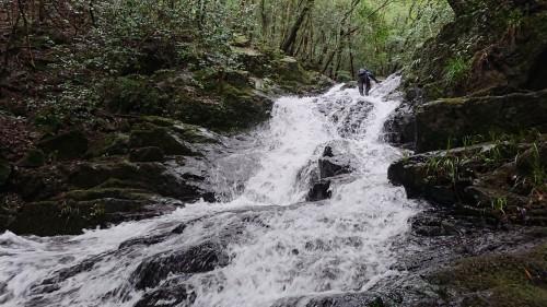 美しい斜滝